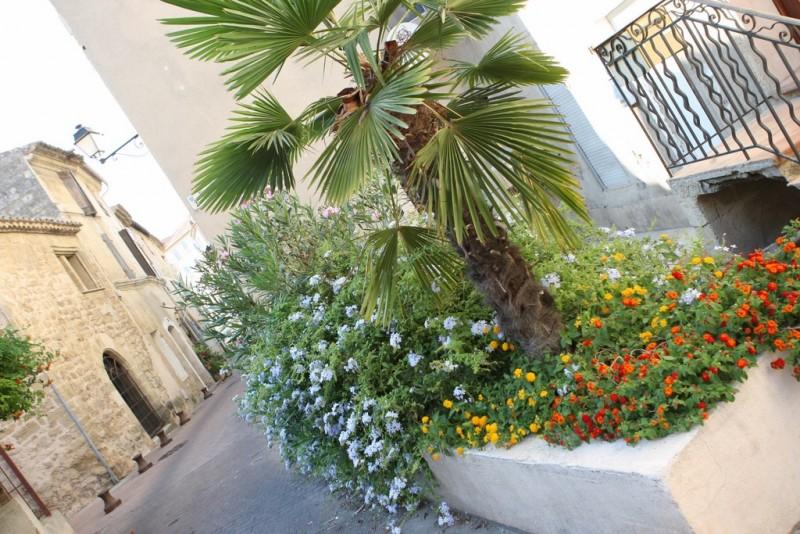 Un centre ancien d'Istres fleuri