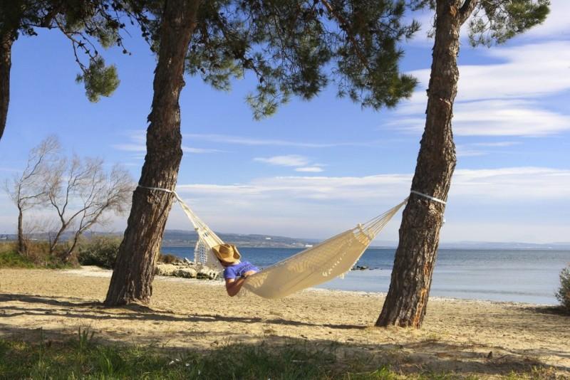 Une bonne sieste au soleil et aux sons des cigales