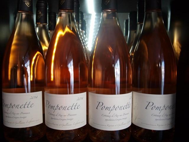 Vin rosé Pomponette de Sulauze