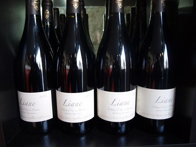 Vin rouge Liane de Sulauze