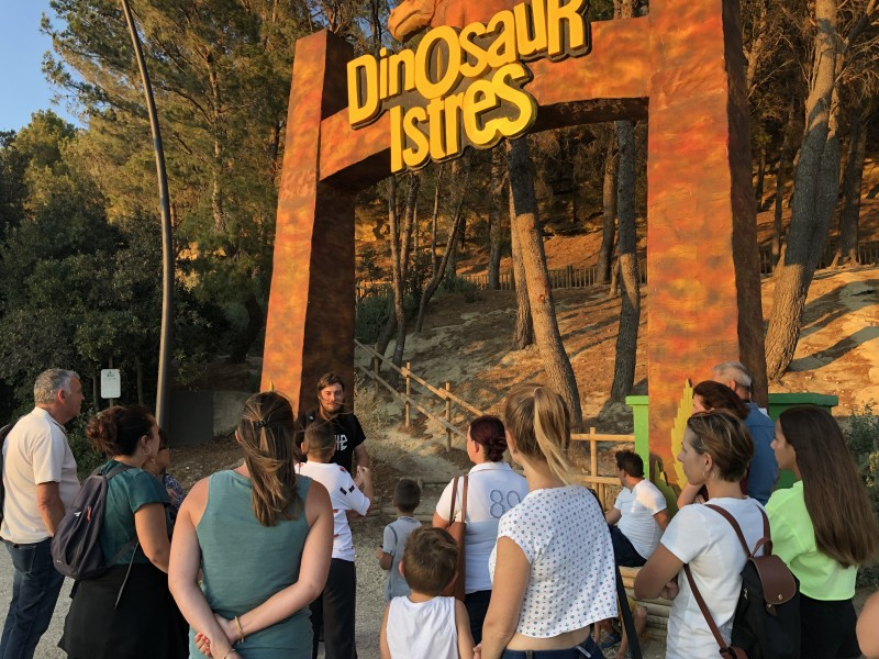 Visite Dinosaur'Istres