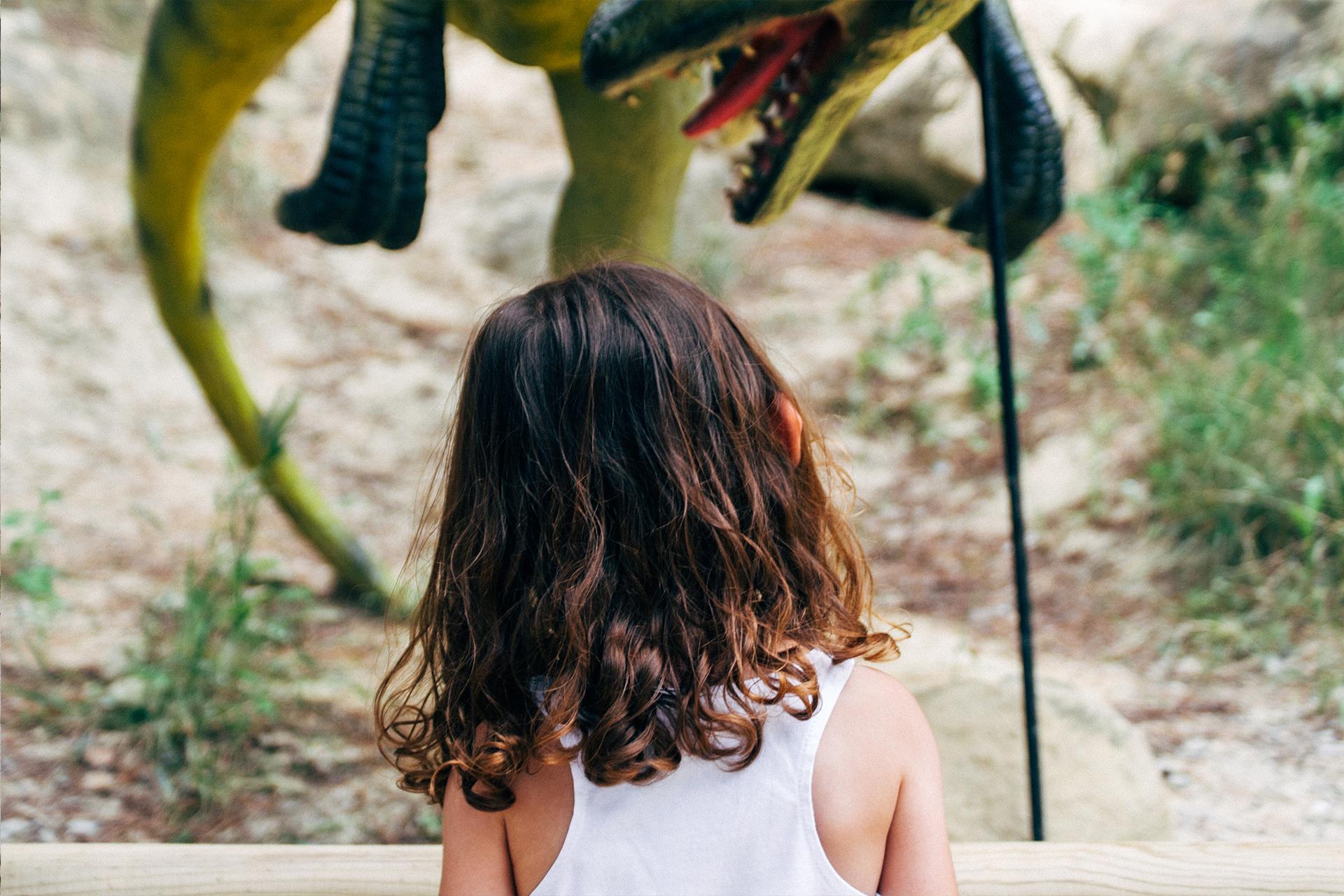 Dinosaur'istres, parcours pédagogique et ludique avec des dinosaures taille réelle  - © Two Black Cameras