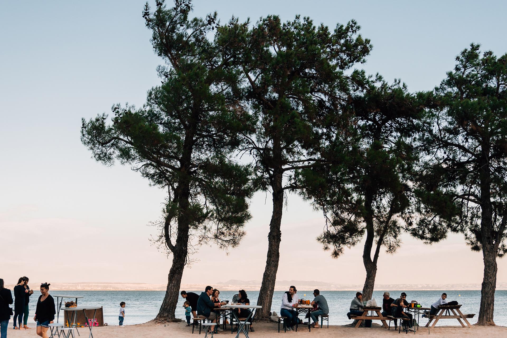 Guinguette et restauration sur la plage de la Romaniquette