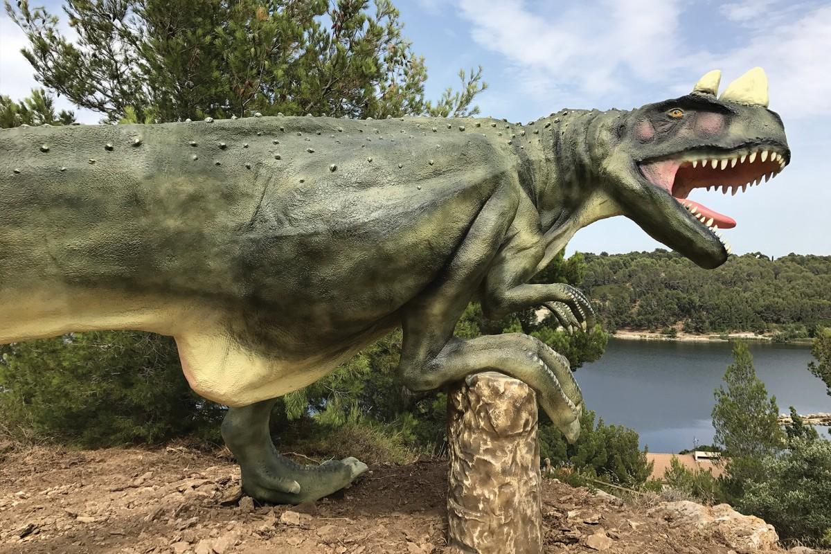 Dinosaur'Istres, parc gratuit à Istres sur les dinosaures