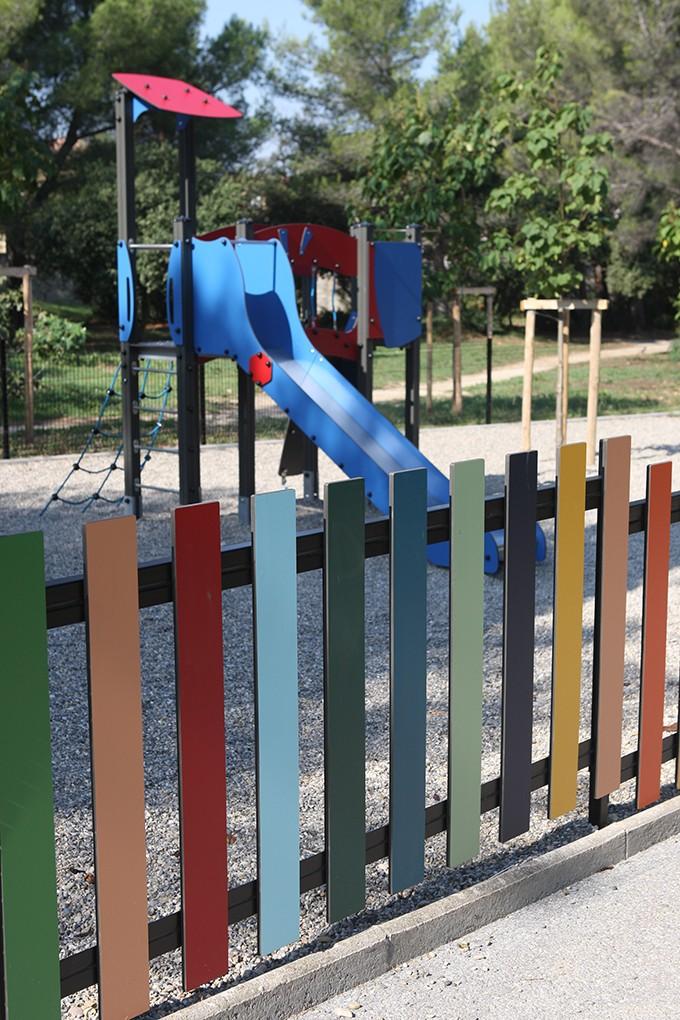 Le parc dispose de deux aires de jeux