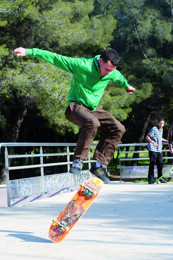 Un skate park de haute qualité pour tous les niveaux