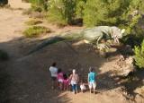 Dinosaur'Istres sur la colline préservée du Castellan