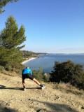 Le sentier du littoral pour une magnifique vue sur l'étang de Berre