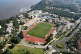 Le stade d'athlétisme du C.E.C