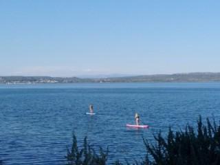 Balade Paddle sur l'étang de Berre