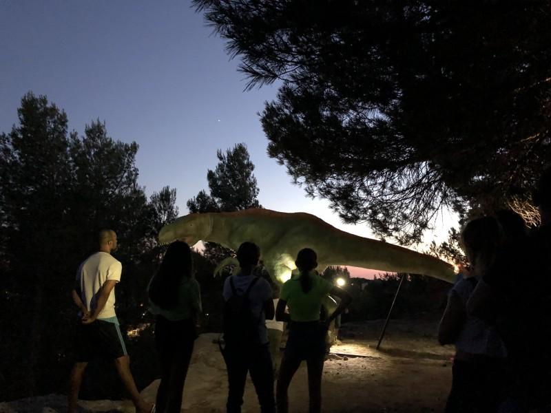 Visite nocturne Dinosaur'istres